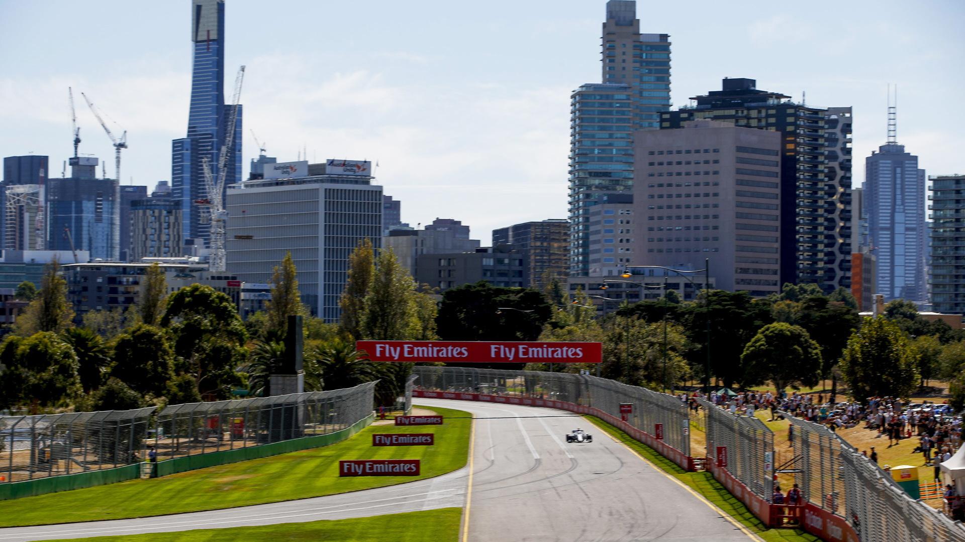 Melbourne Grand Prix Circuit, home of the Formula 1 Australian Grand Prix