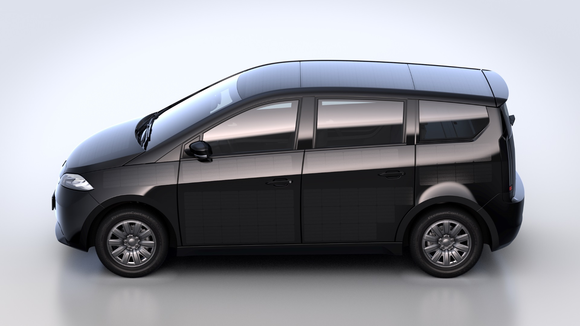 Sono Sion solar assisted electric car