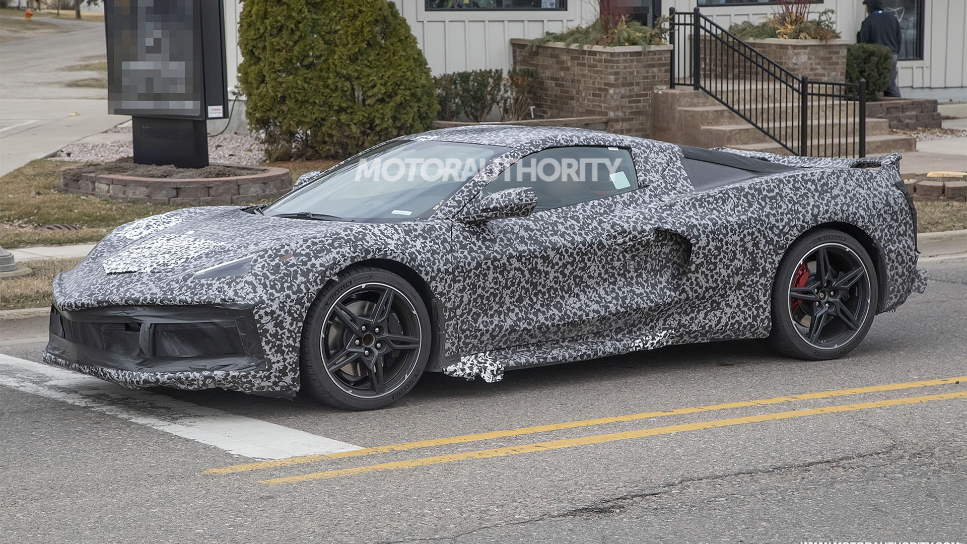 2020 Chevrolet Corvette (C8) spy shots and video