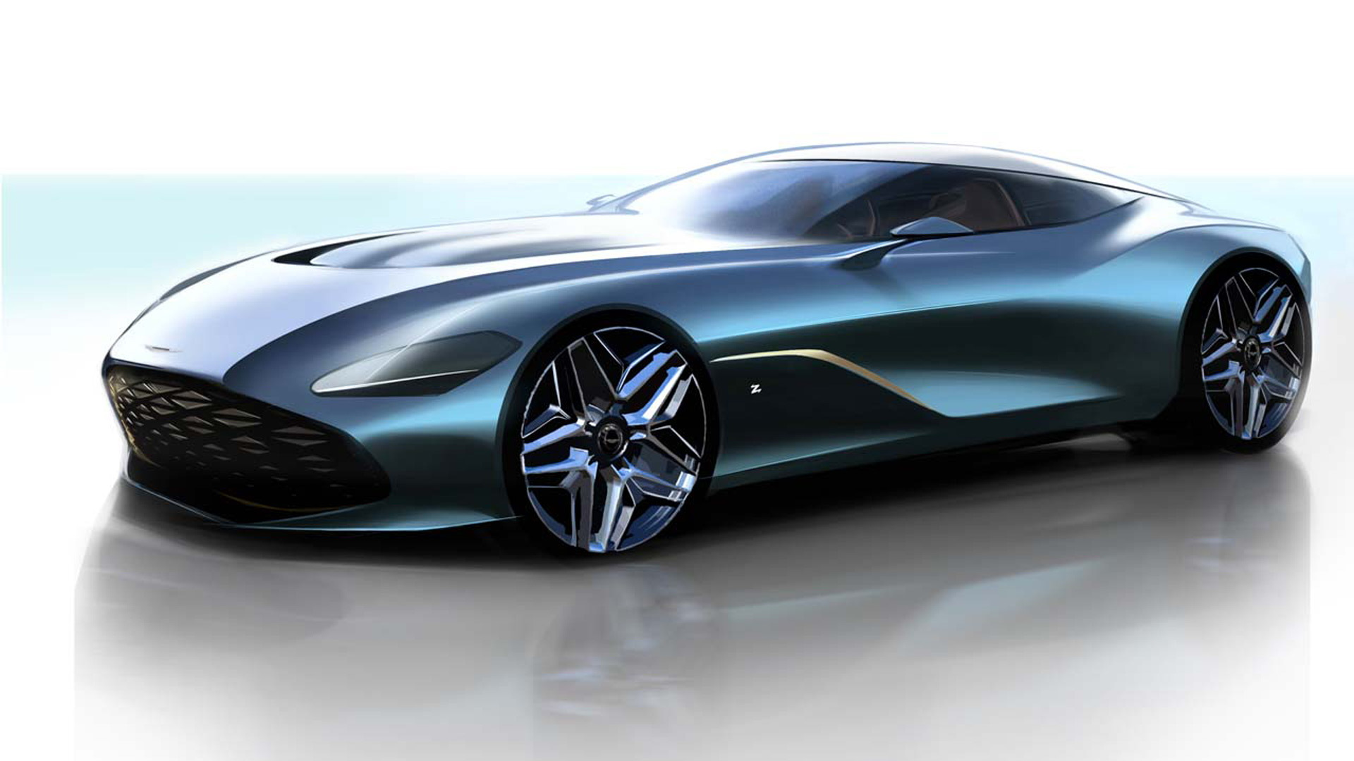 Aston Martin DBS GT Zagato - first sketches revealed
