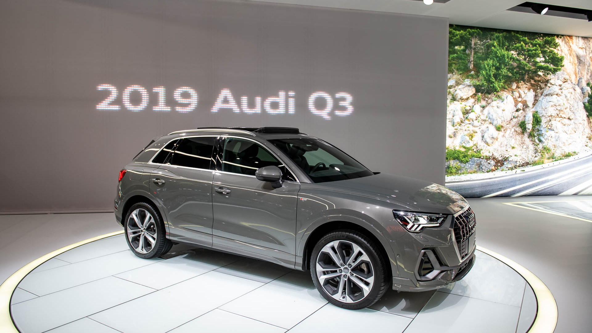 2019 Audi Q3, 2019 New york International Auto Show
