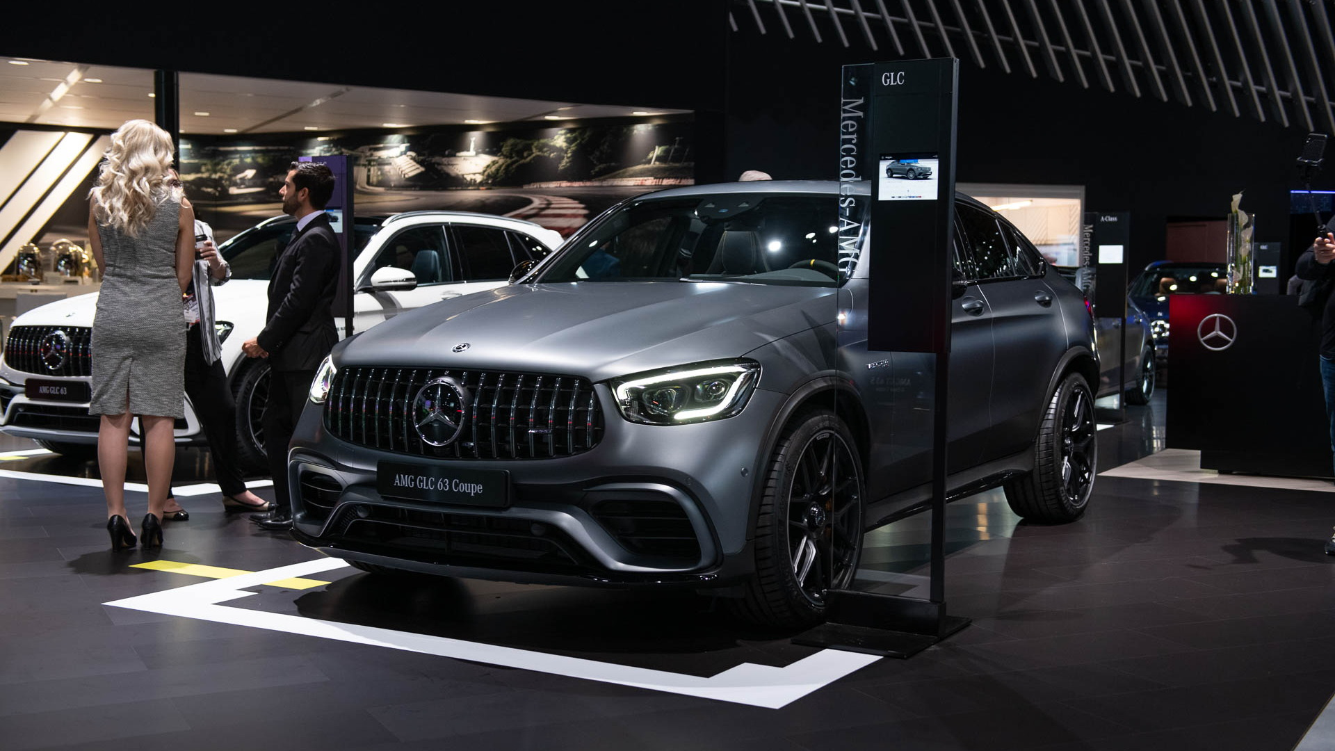 2020 Mercedes-Benz GLC63 Coupe, 2019 New York International Auto Show