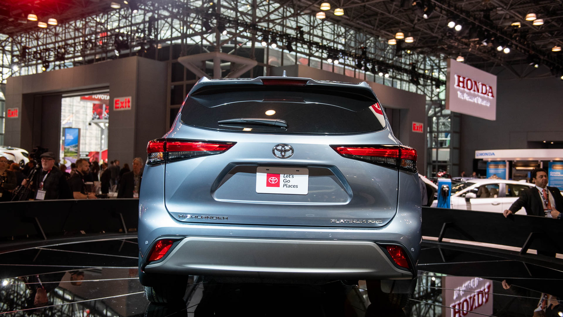 2020 Toyota Highlander, 2019 New York International Auto Show