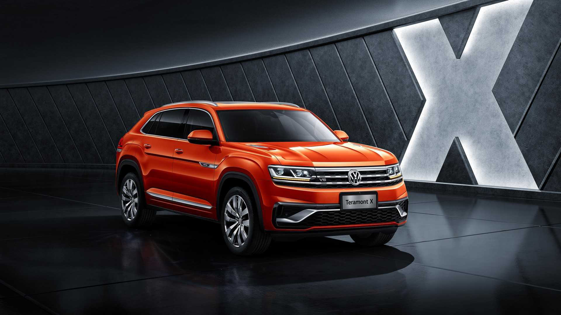 Vw S 2 Row Atlas Suv Shown In China As Teramont X