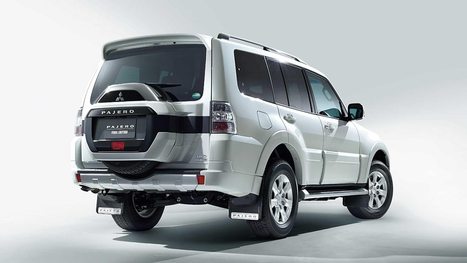 2022 Mitsubishi Pajero Final Edition