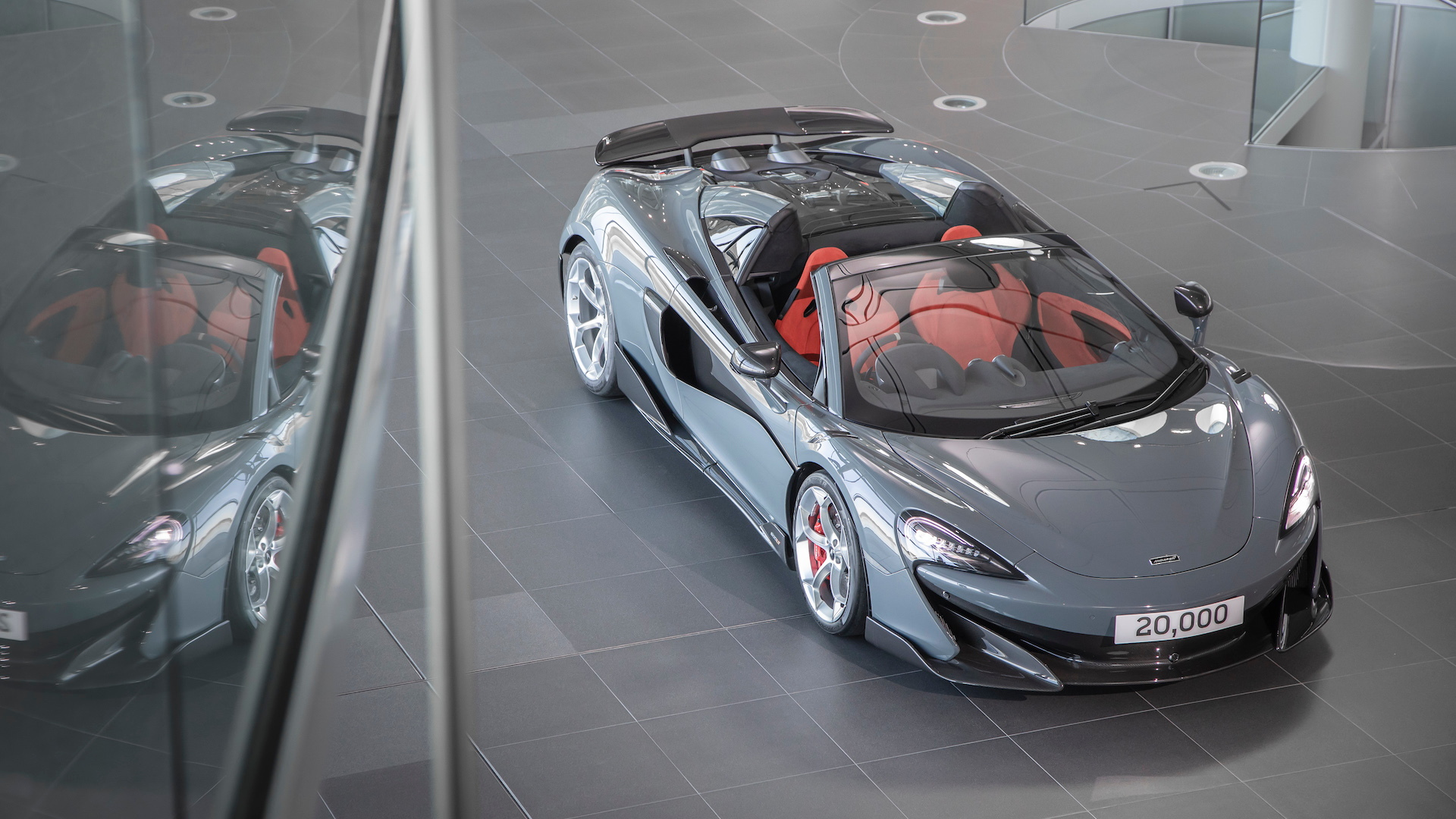 20,000th McLaren built: 600LT Spider
