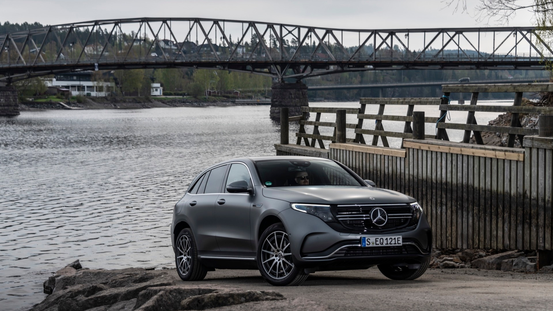 2020 Mercedes-Benz EQC 400  -  first drive  -  Norway, May 2019