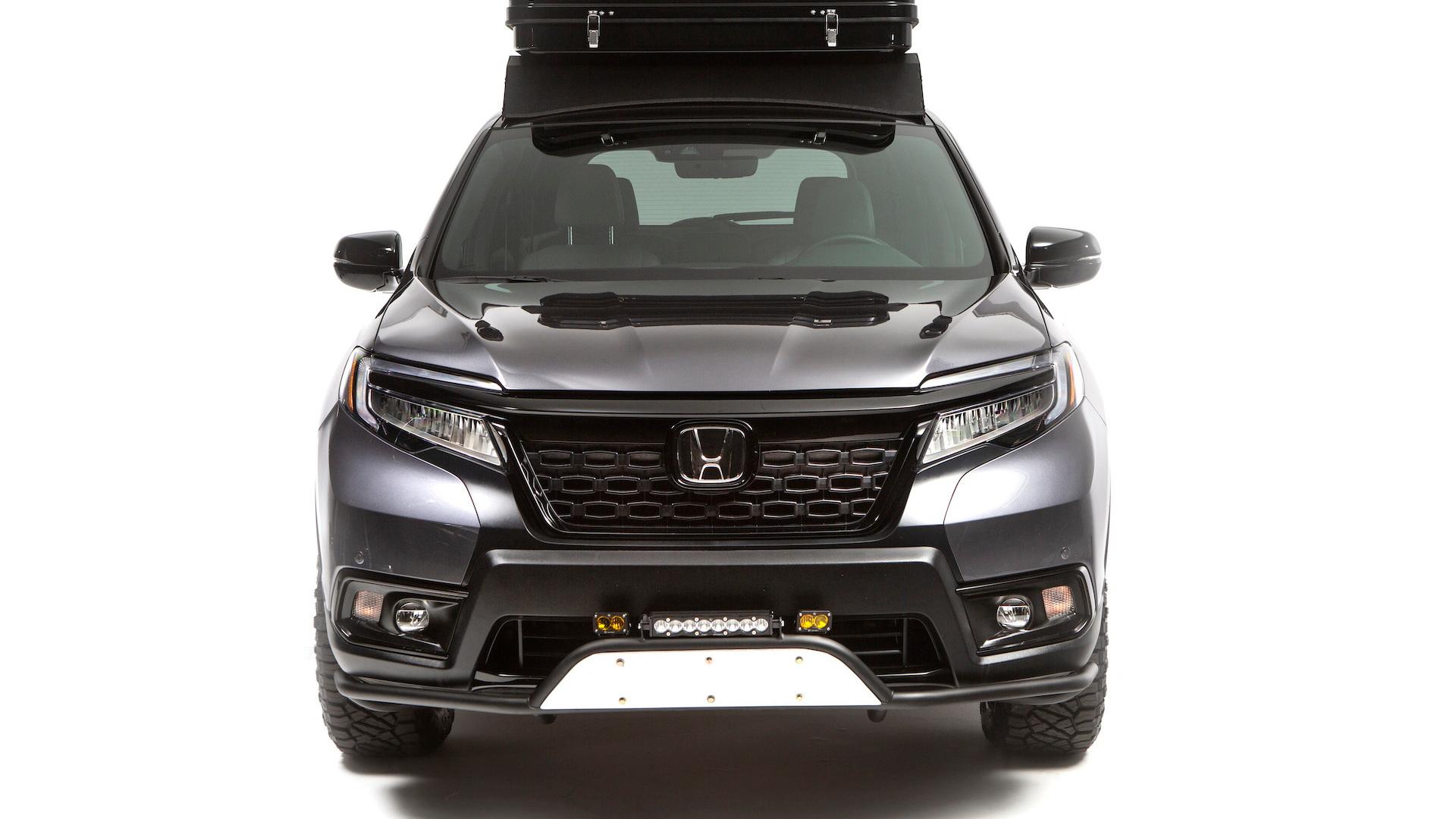 Honda Passport overlanding concept