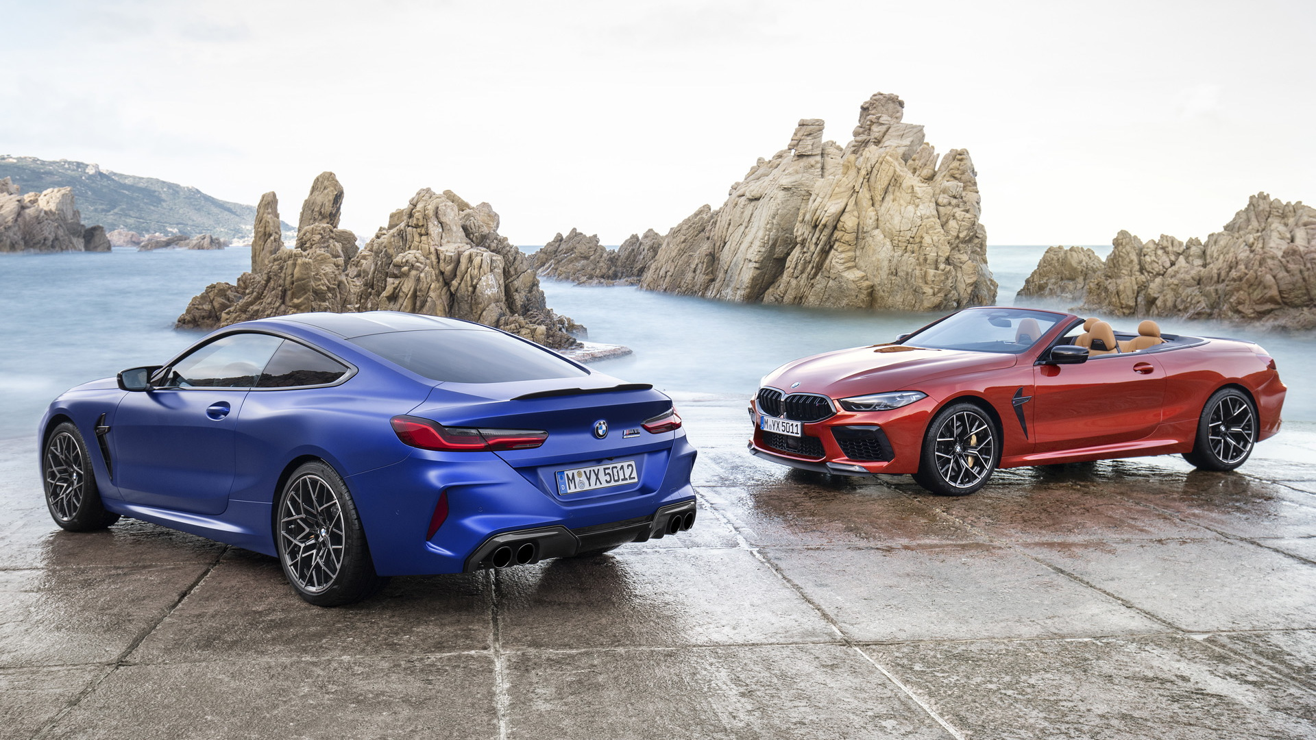 2020 BMW M8 and M8 Convertible