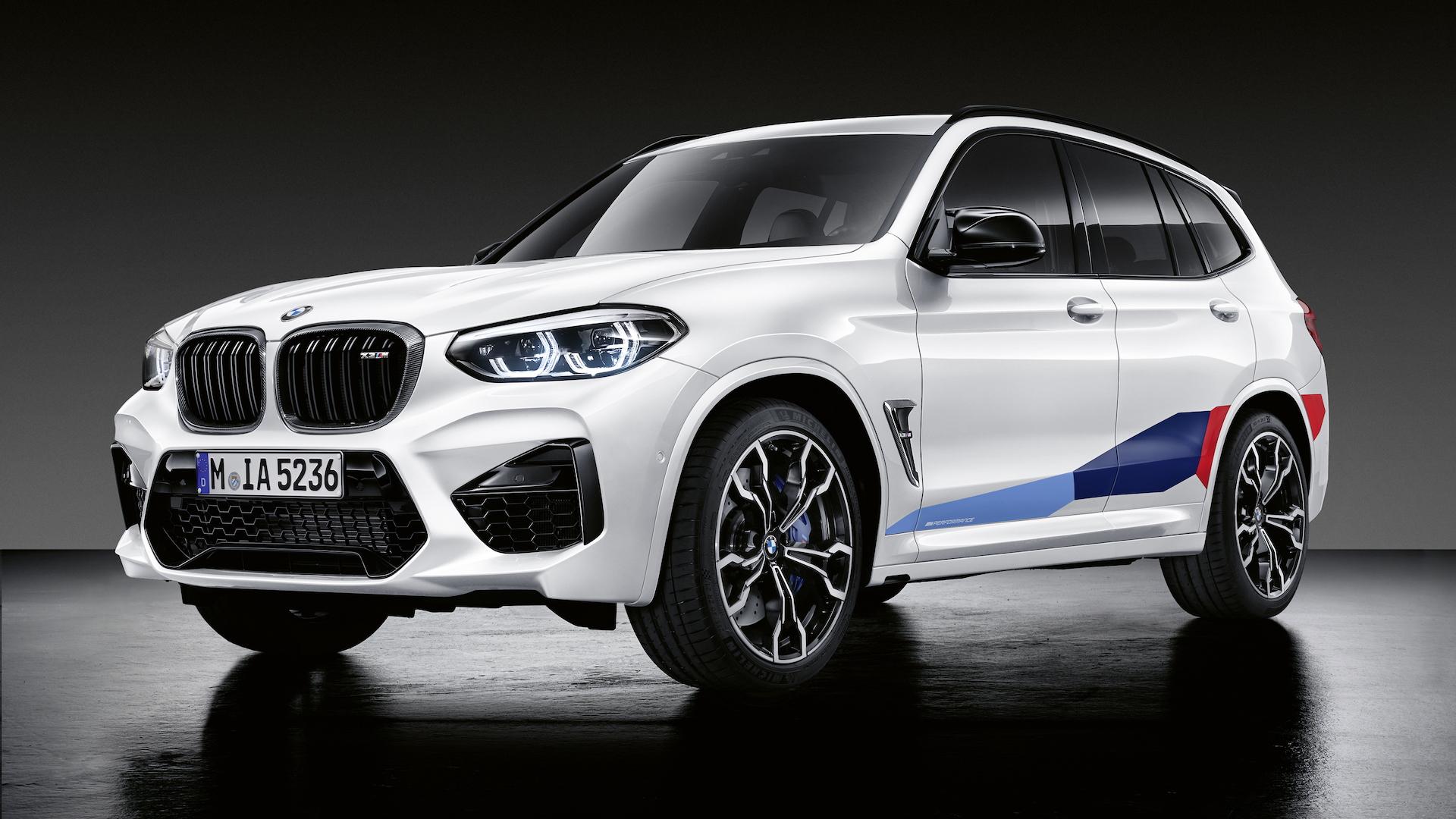 BMW M Performance parts for X3 M, X4 M