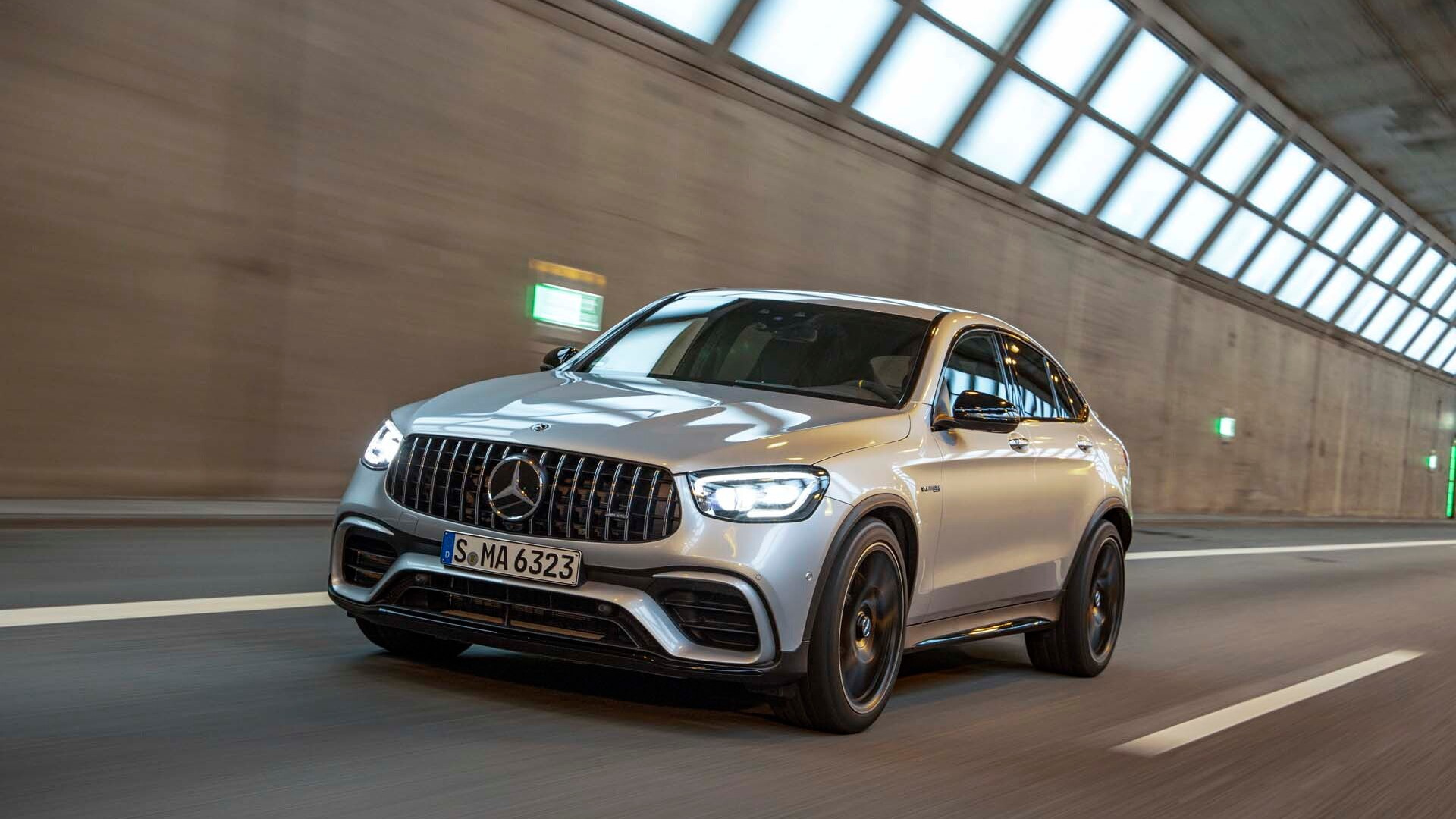 2020 Mercedes-Benz GLC 63 S Coupe first drive review