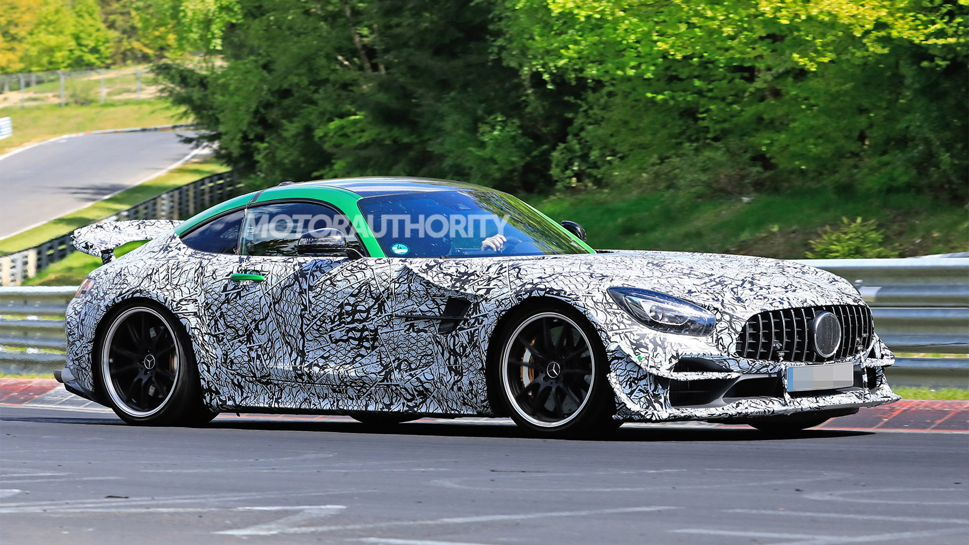 2021 Mercedes-AMG GT R Evo spy shots - Image via S. Baldauf/SB-Medien