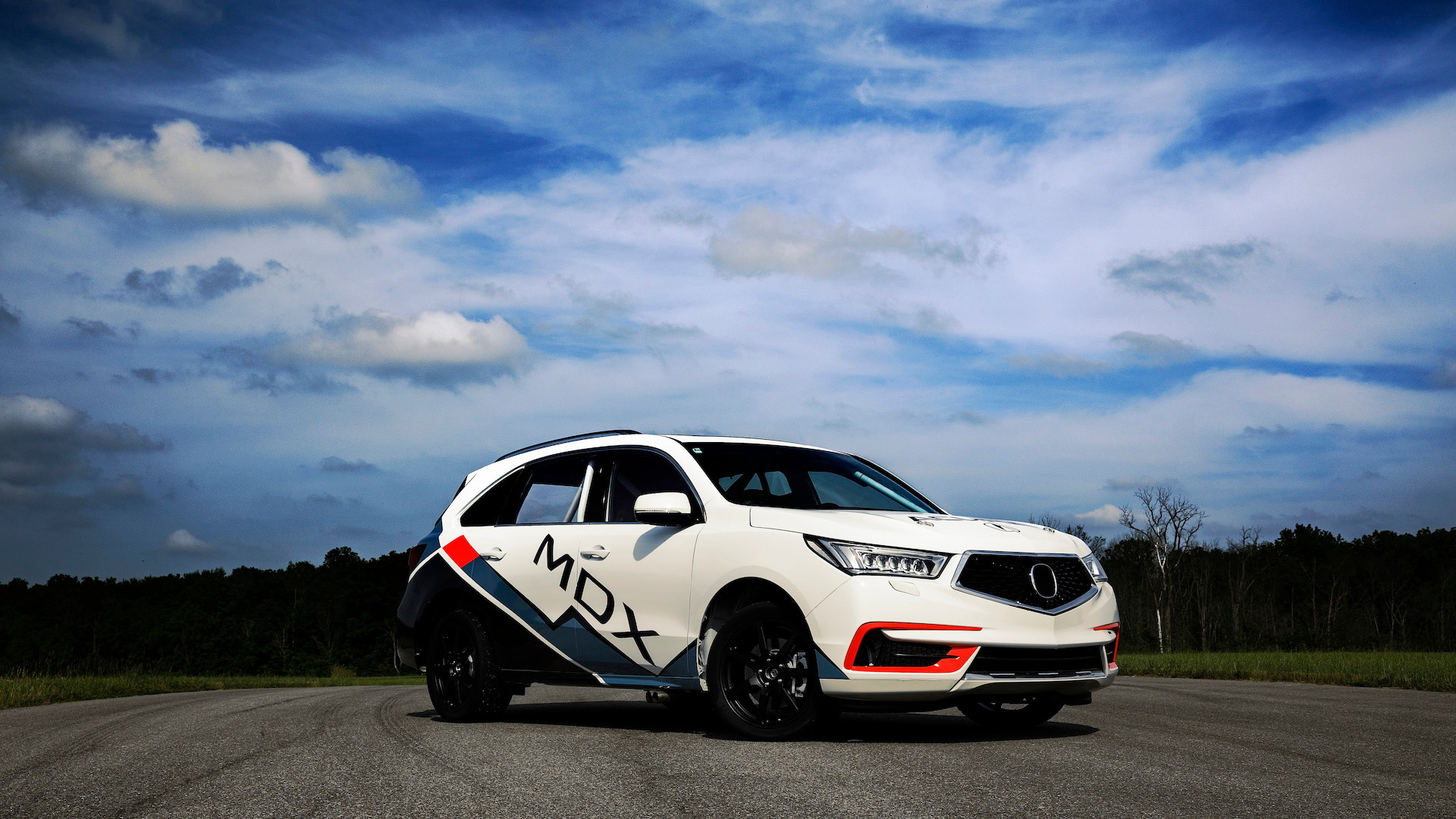 Acura MDX Pikes Peak Hill Climb race car
