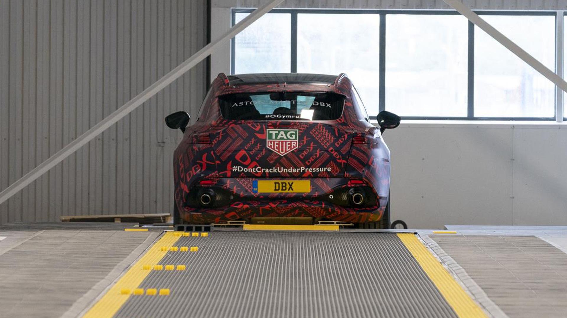 Pre-production Aston Martin DBX