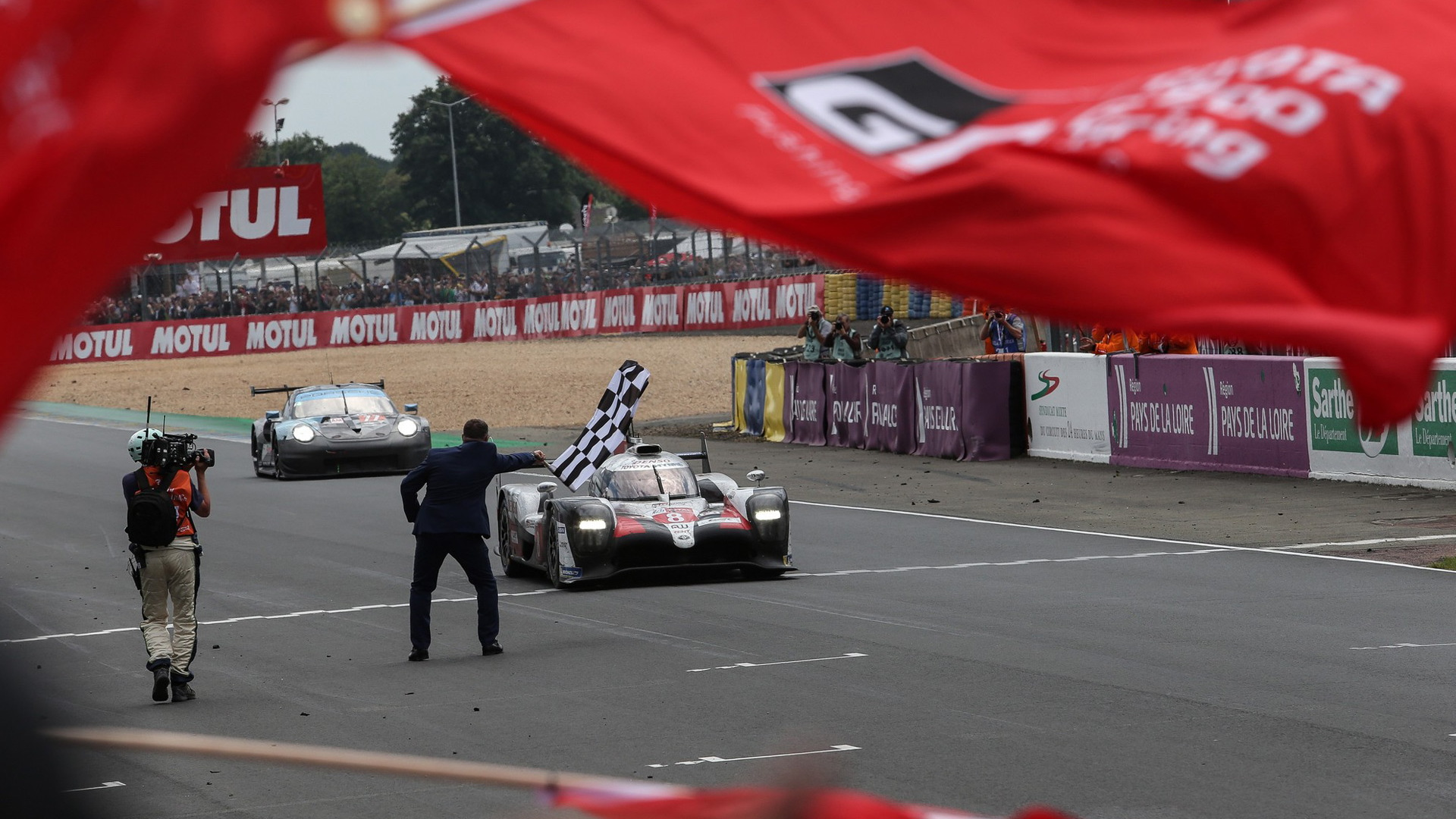 Toyota at the 2019 24 Hours of Le Mans