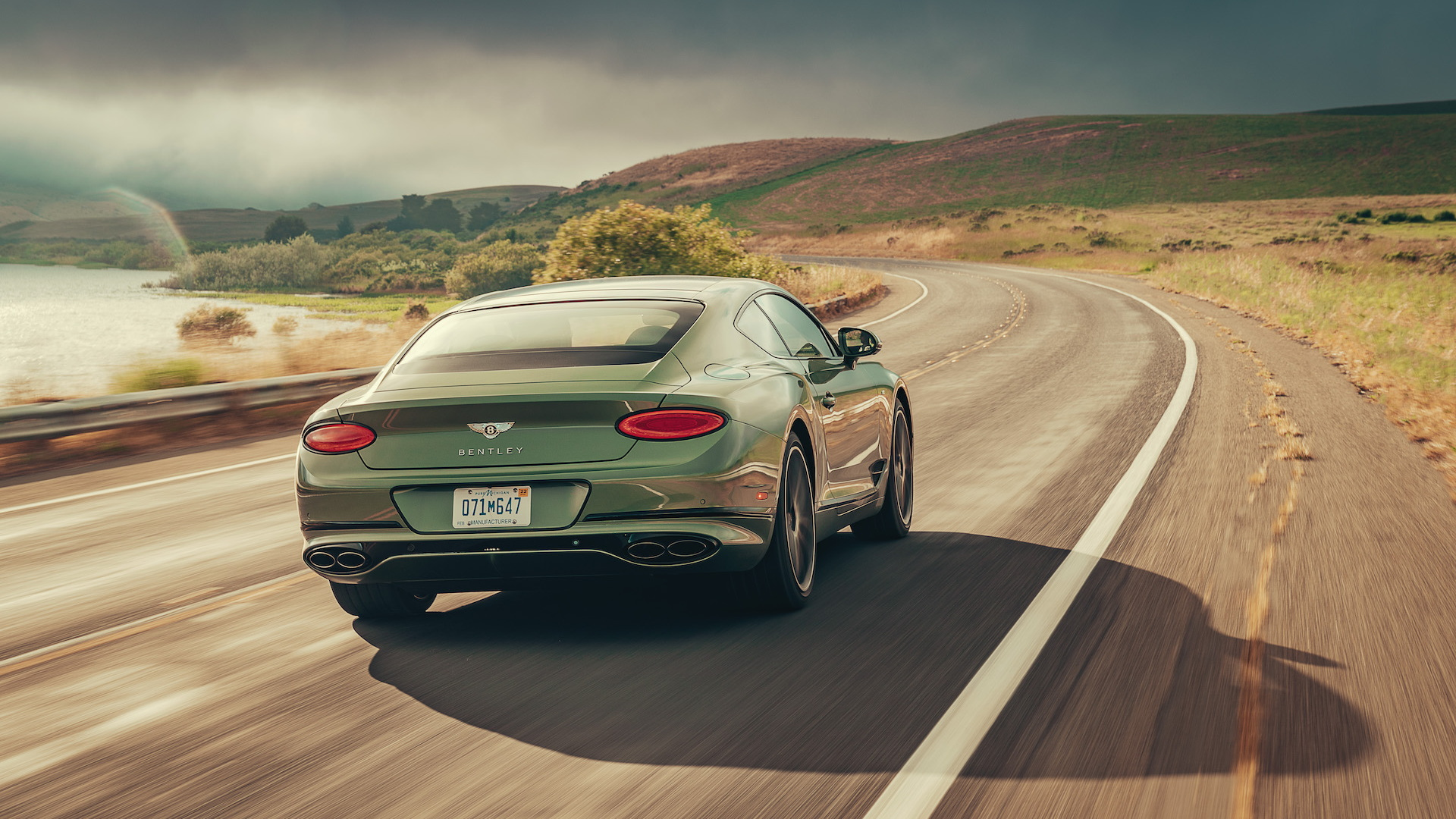 First Drive Review Feeling Good In The 2020 Bentley Continental Gt V8