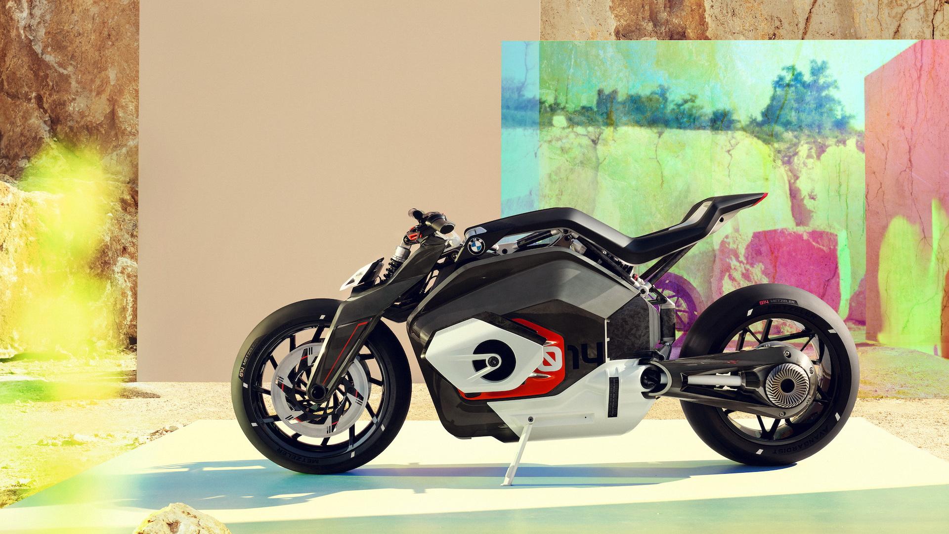 BMW Motorrad Vision DC electric motorcycle concept