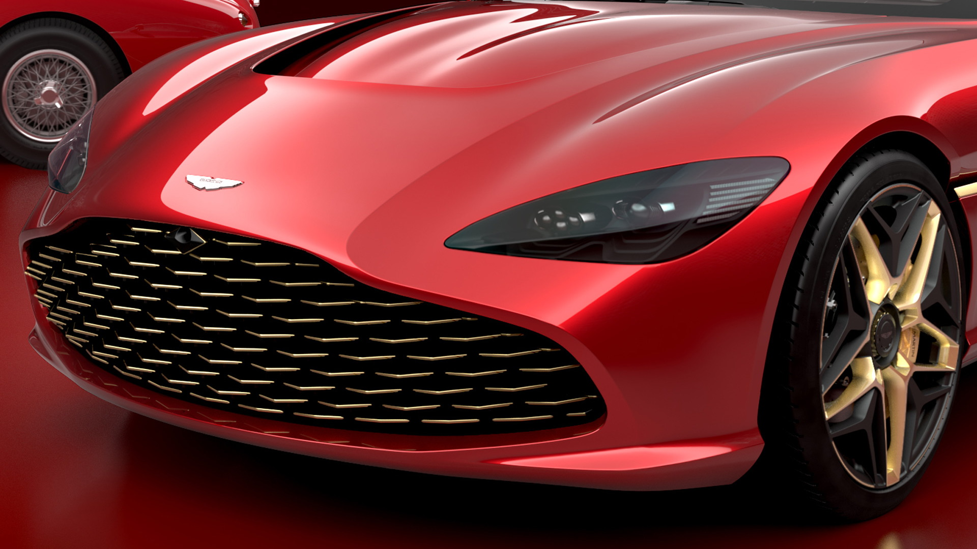 Aston Martin Previews Dbs Gt Zagato To Be Sold Alongside