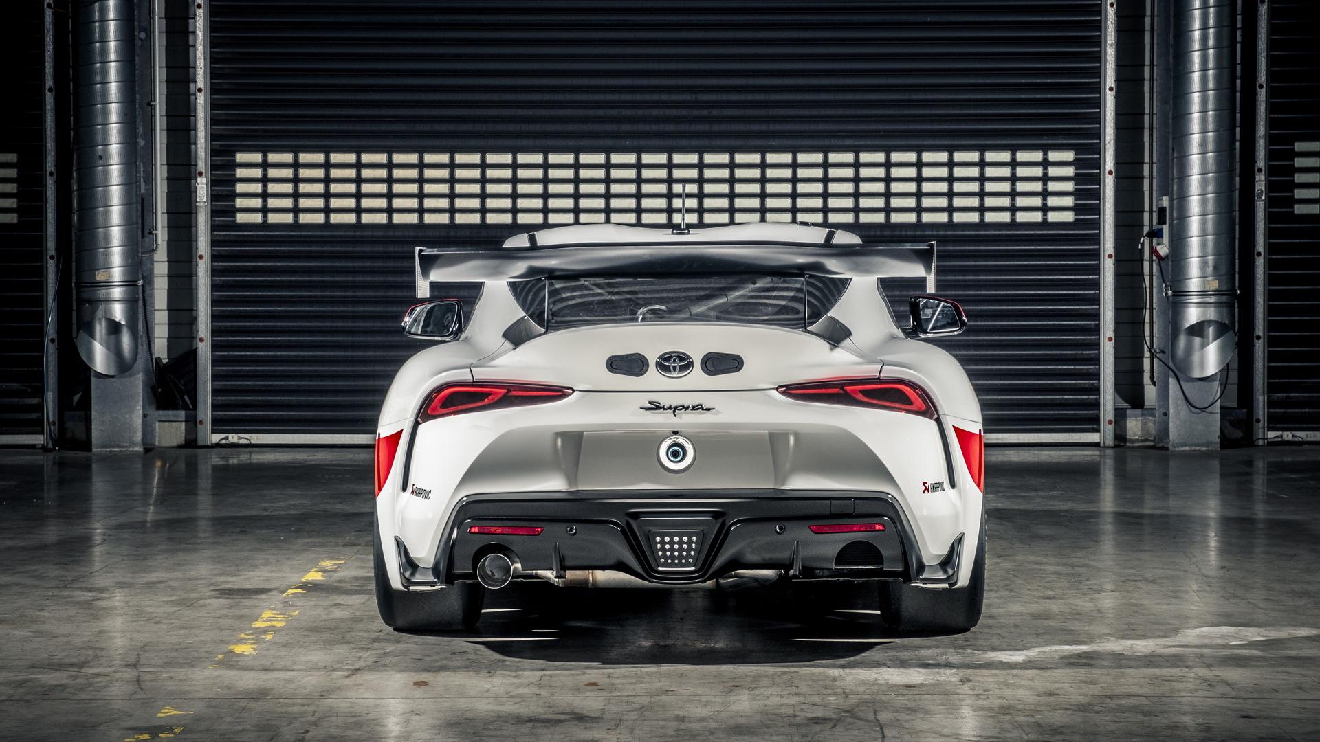 Toyota Supra GT4 race car concept