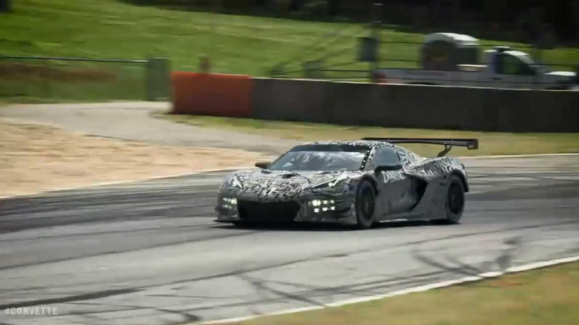 2020 Chevrolet Corvette C8.R race car teaser