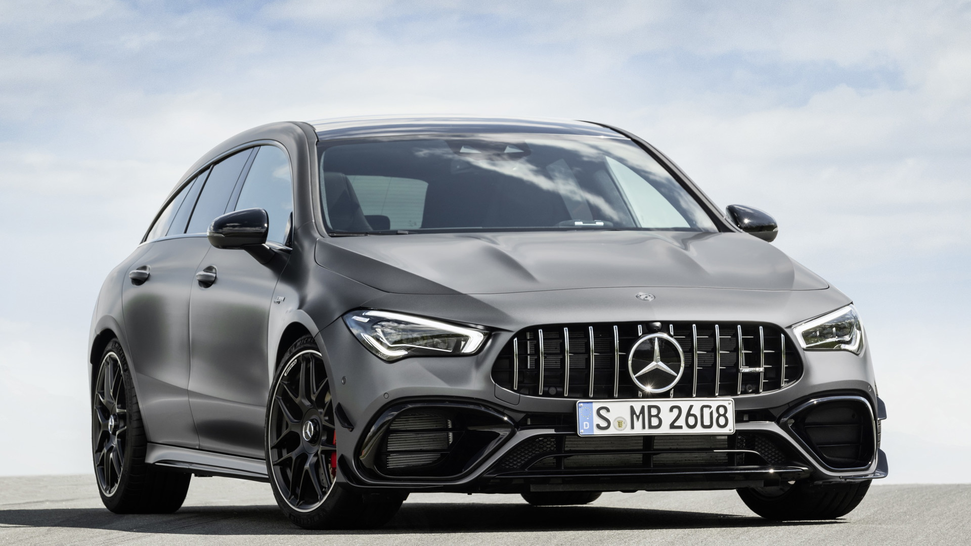 2020 Mercedes-AMG CLA45 S Shooting Brake