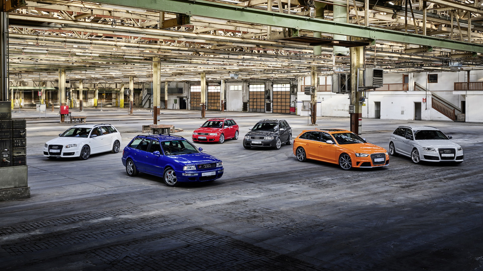 Audi celebrates 25 years of RS badge