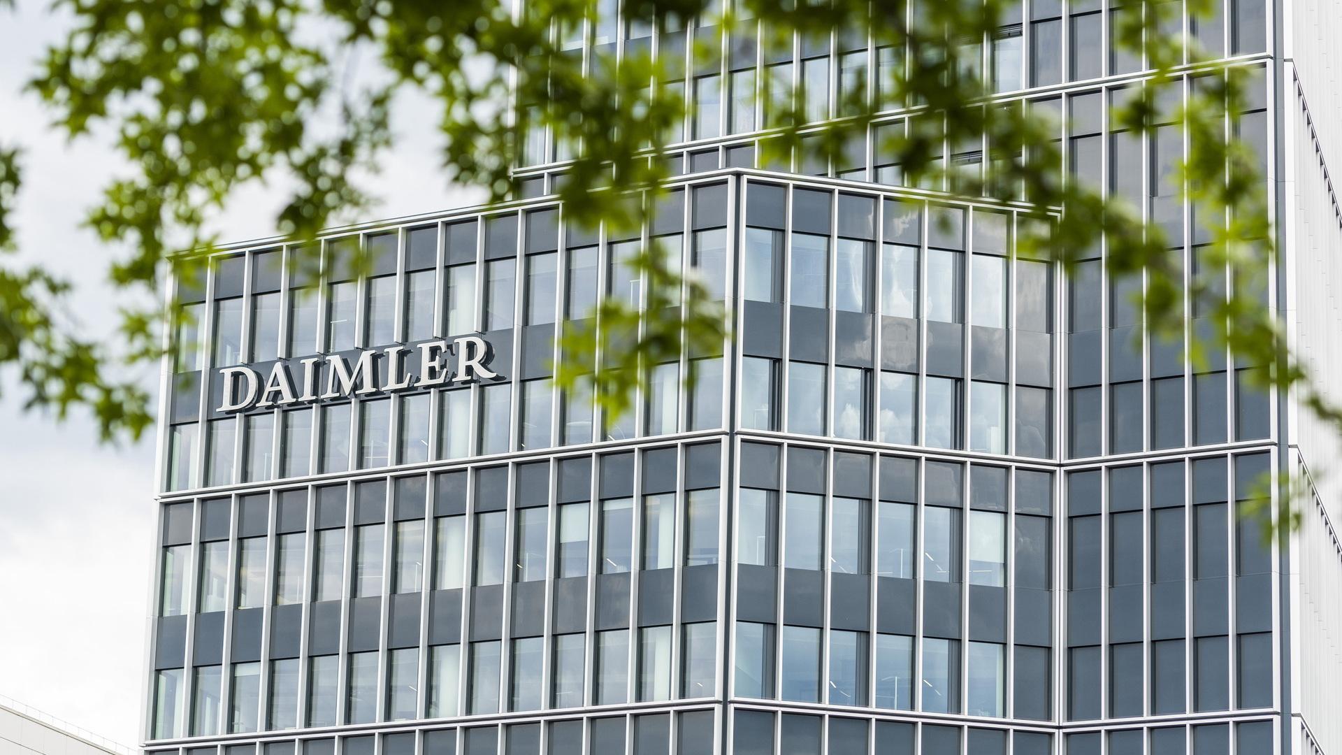 Daimler headquarters in Stuttgart, Germany