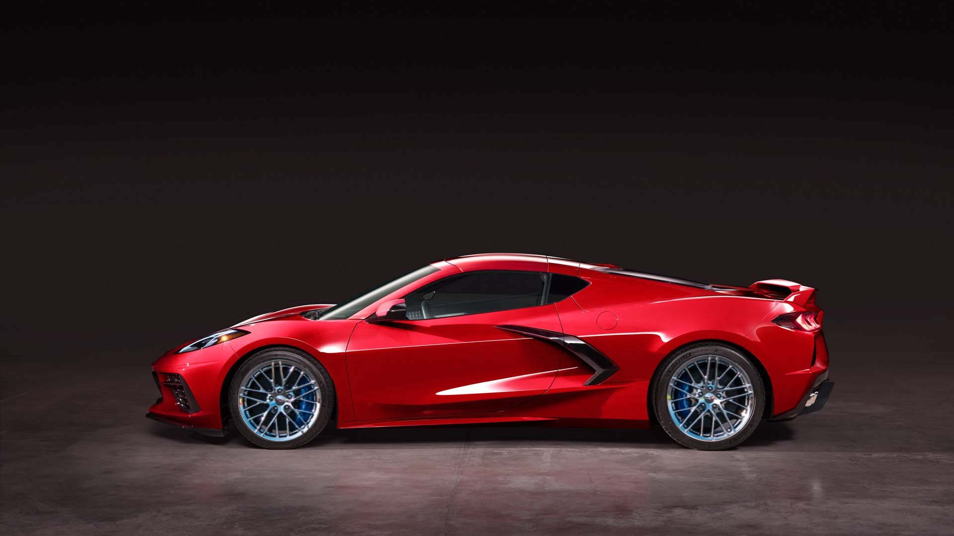 2020 Chevrolet Corvette Stingray with C6 ZR1 wheels