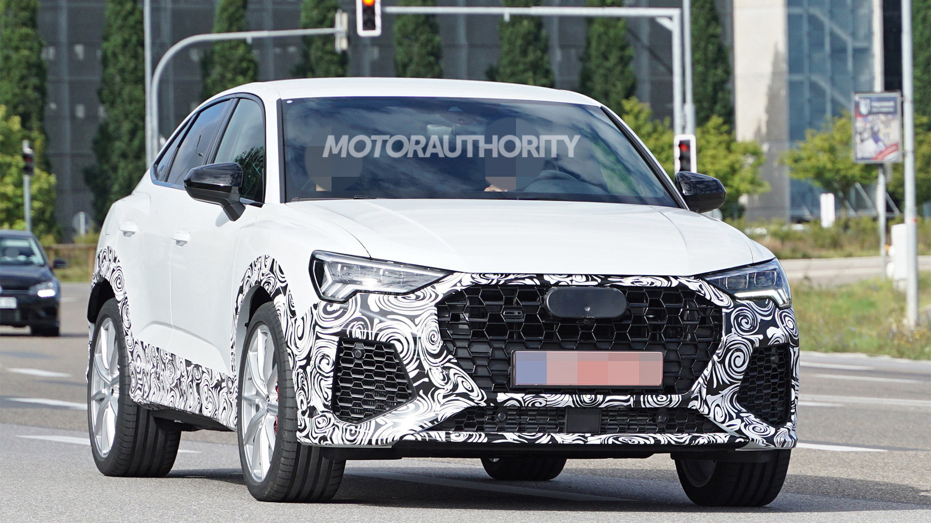 2020 Audi Rs Q3 Sportback Spy Shots