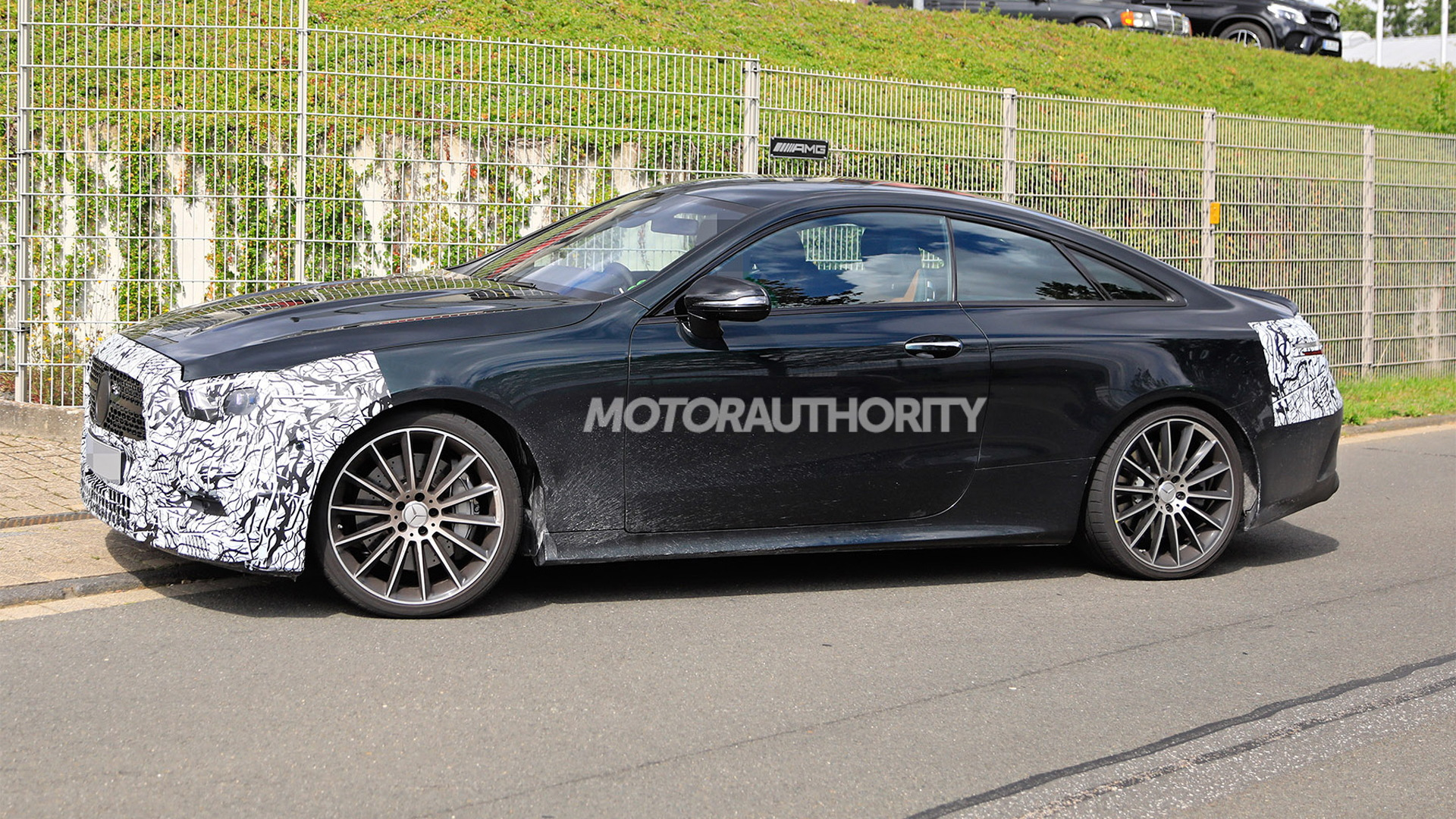 2021 Mercedes-AMG E53 Coupe facelift spy shots - Photo credit: S. Baldauf/SB-Medien