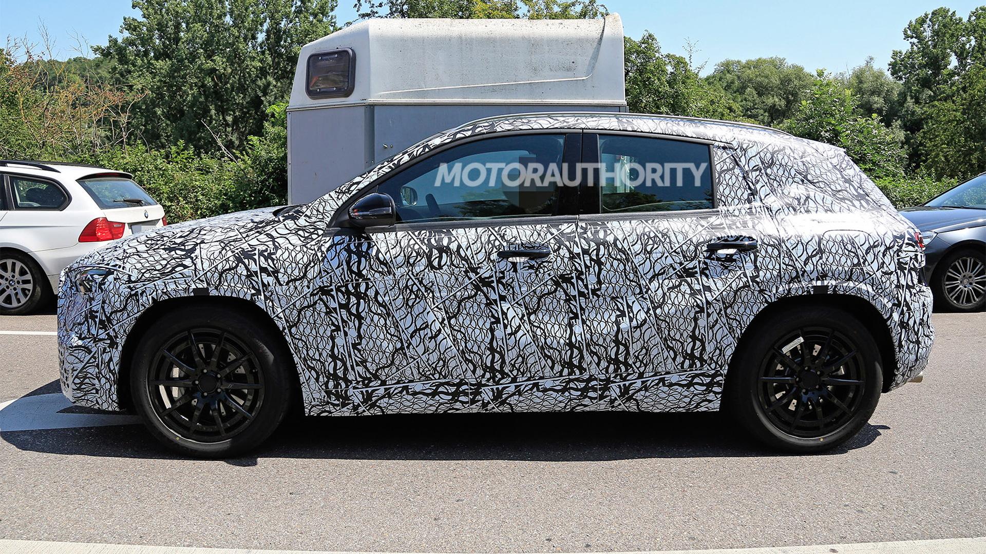 2021 Mercedes-AMG GLA45 spy shots - Photo credit: S. Baldauf/SB-Medien