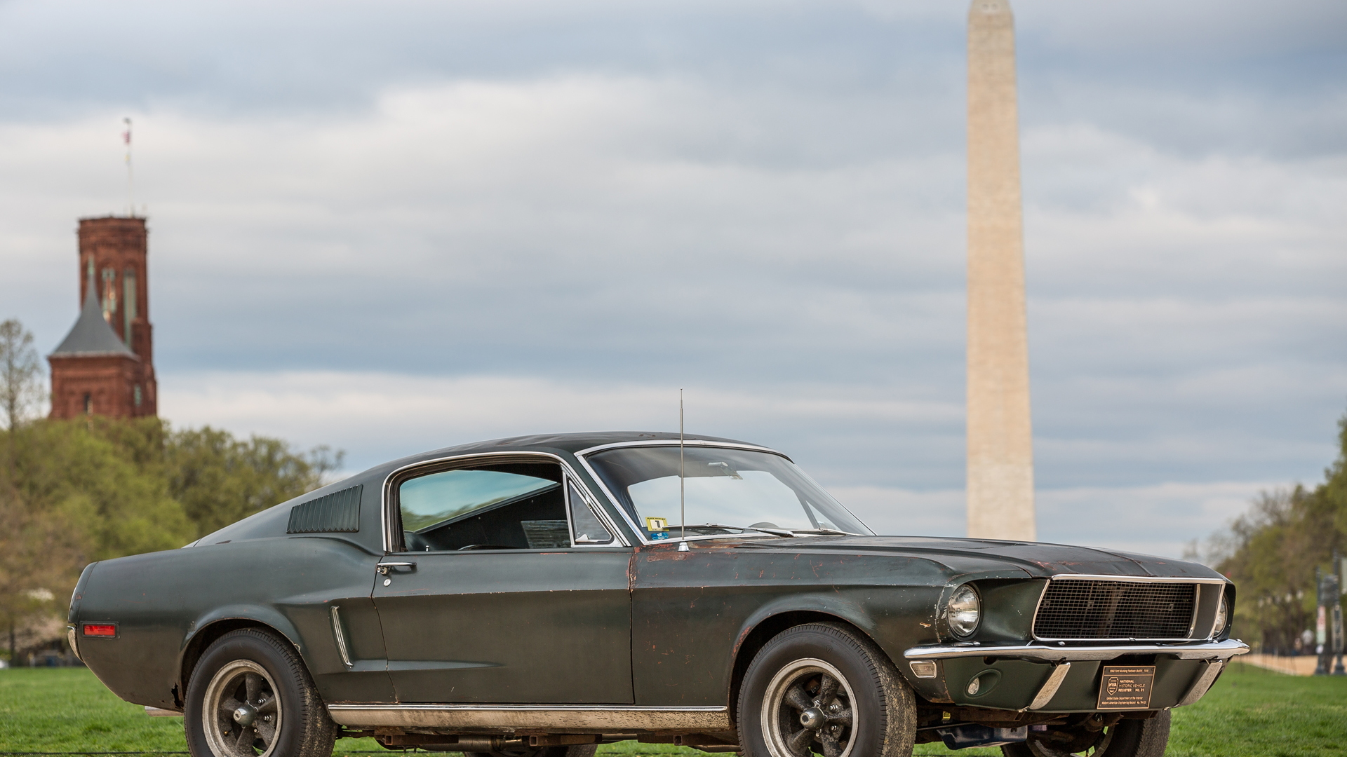 Bullitt Mustang Auction