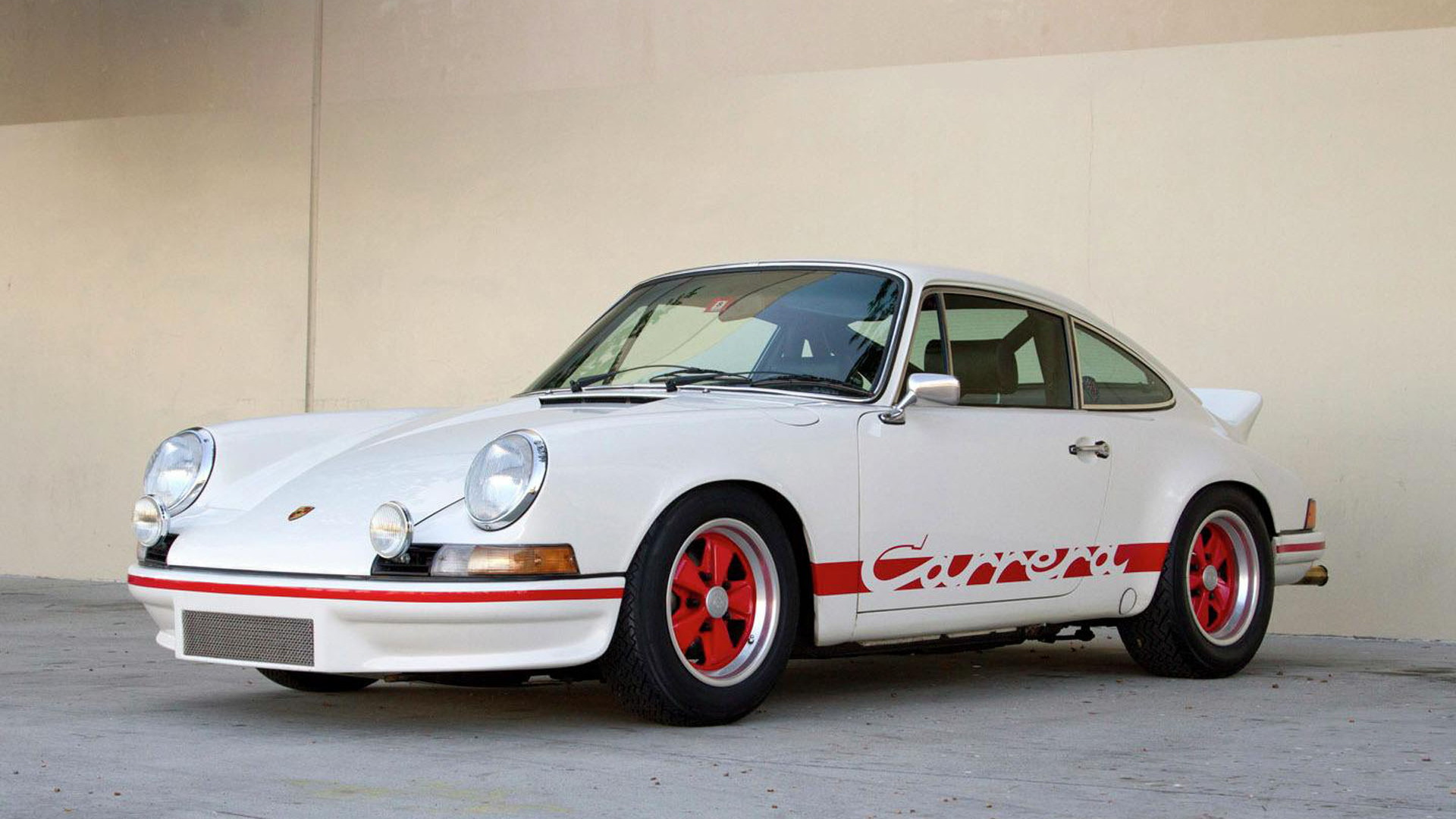 1973 Porsche Carrera RS by RUF