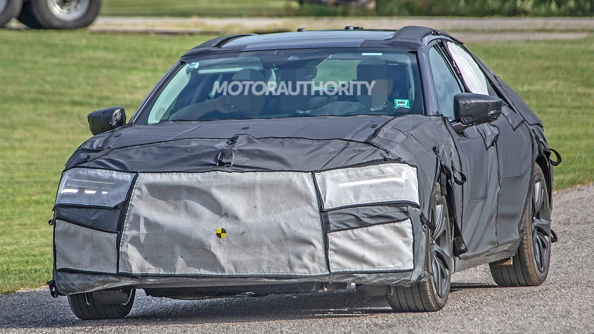 2021 Acura TLX spy shots - Photo credit: S. Baldauf/SB-Medien