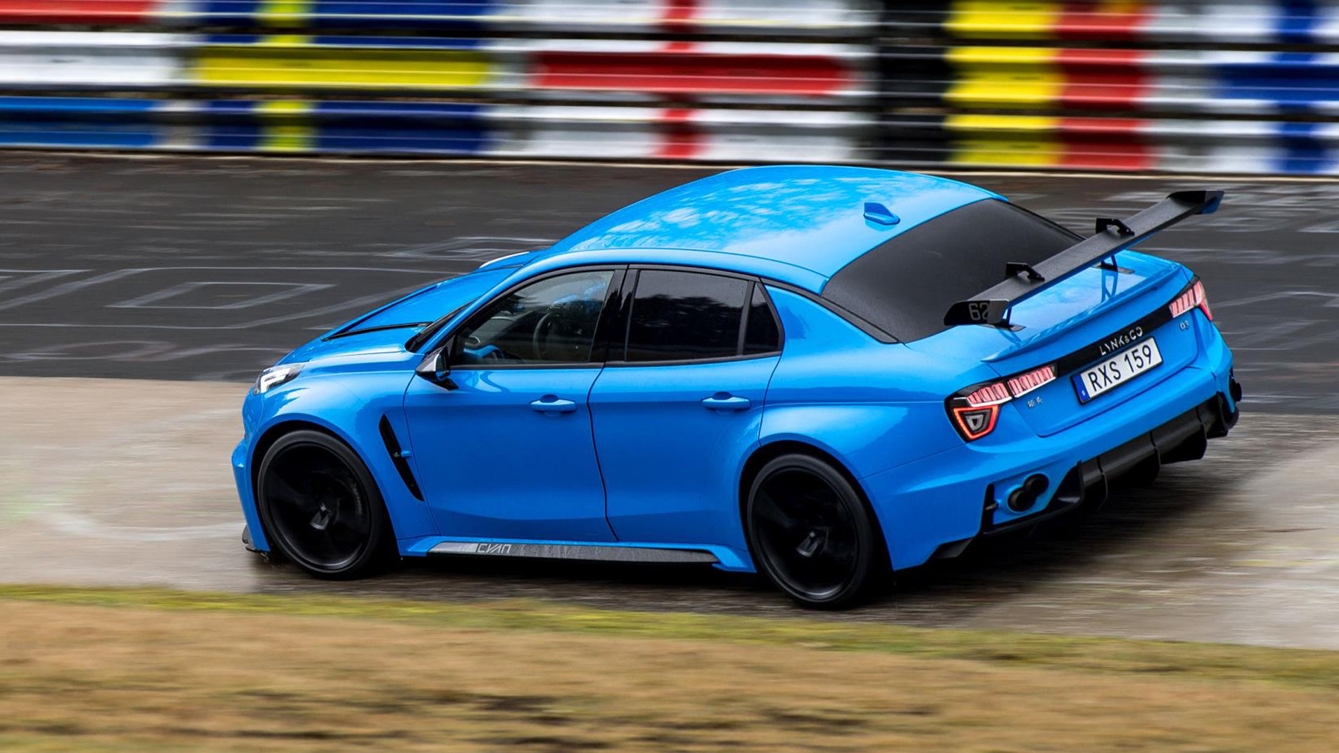 Lynk & Co. 03 Cyan Concept at the Nürburgring