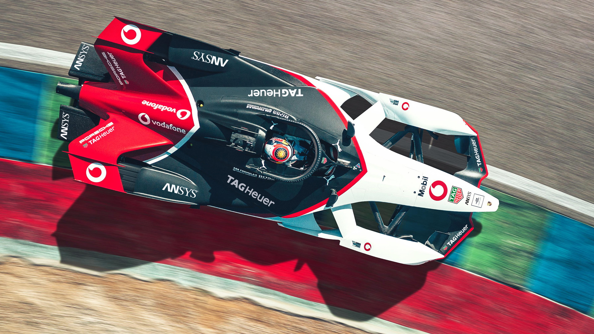 2019/2020 Porsche 99X Electric Formula E race car