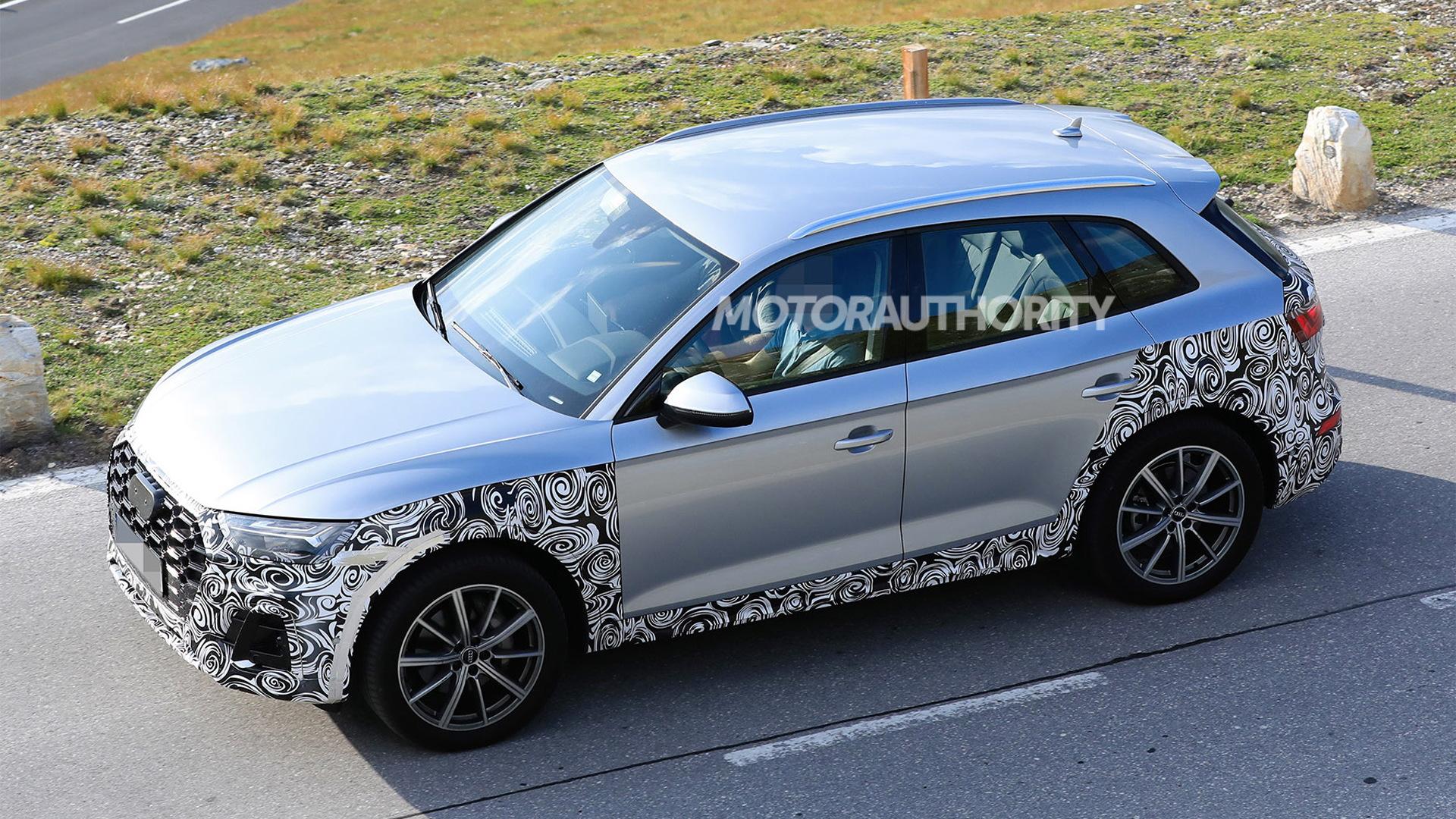 2021 Audi Q5 facelift spy shots - Photo credit: S. Baldauf/SB-Medien