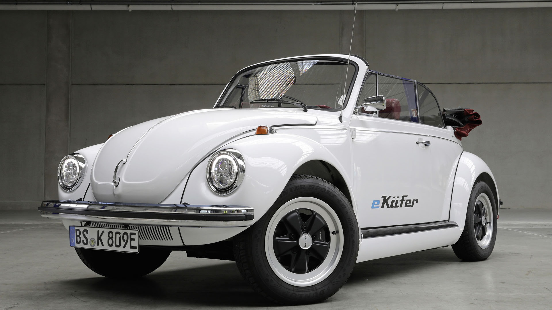 VW and eClassics to offer classic Beetle EV kits