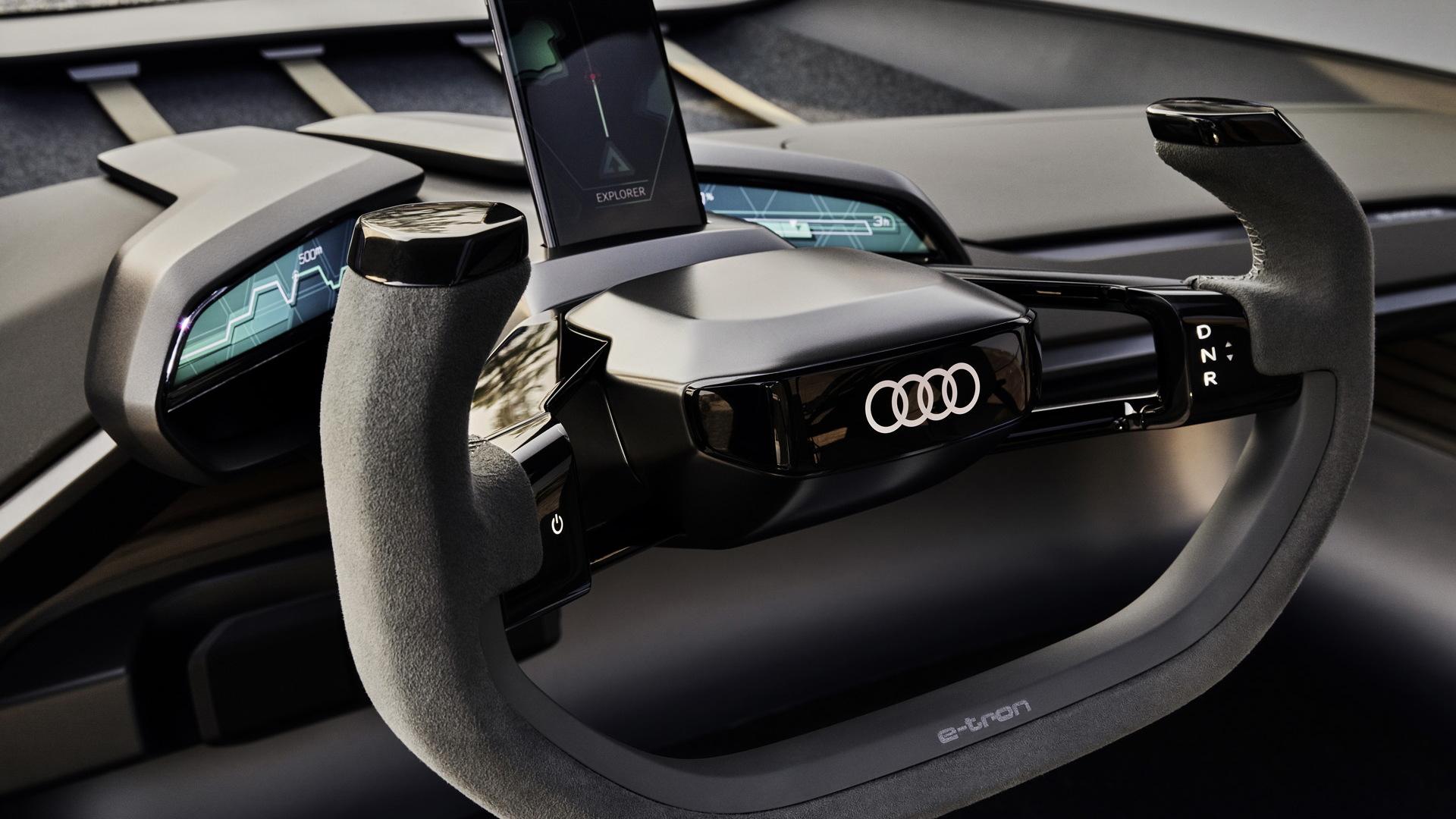 Audi Ai Trail Concept Splices Trail Ready With Autonomous Ready