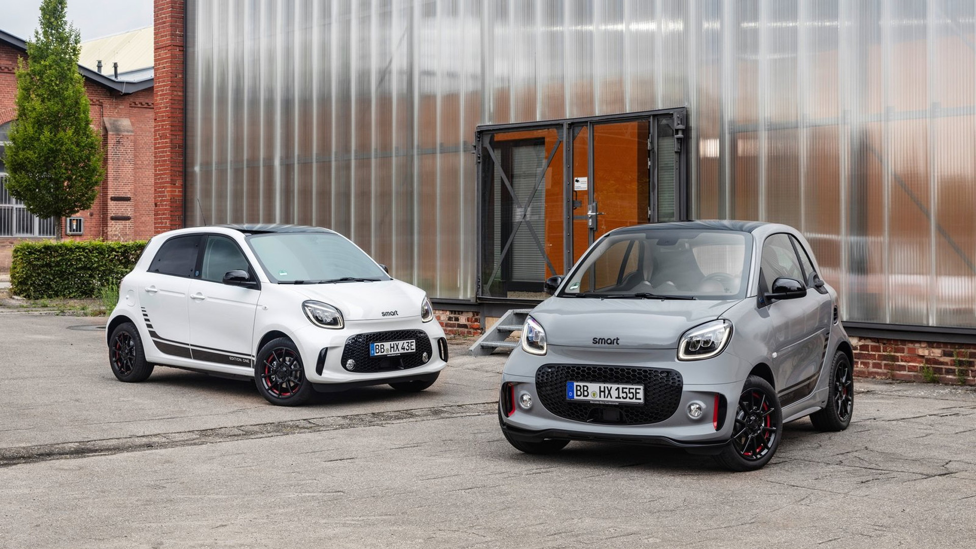 2020 Smart EQ Forfour and Fortwo