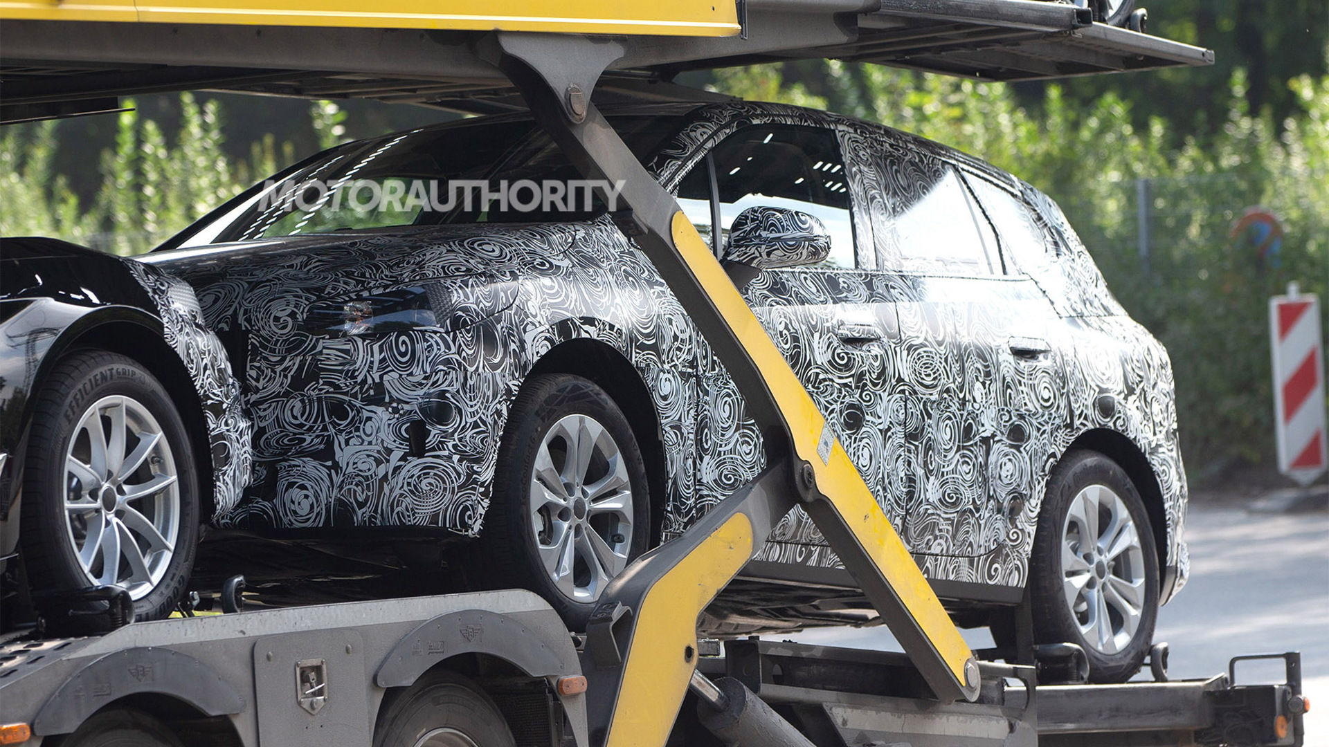 2021 BMW 2-Series Active Tourer spy shots - Photo credit: S. Baldauf/SB-Medien