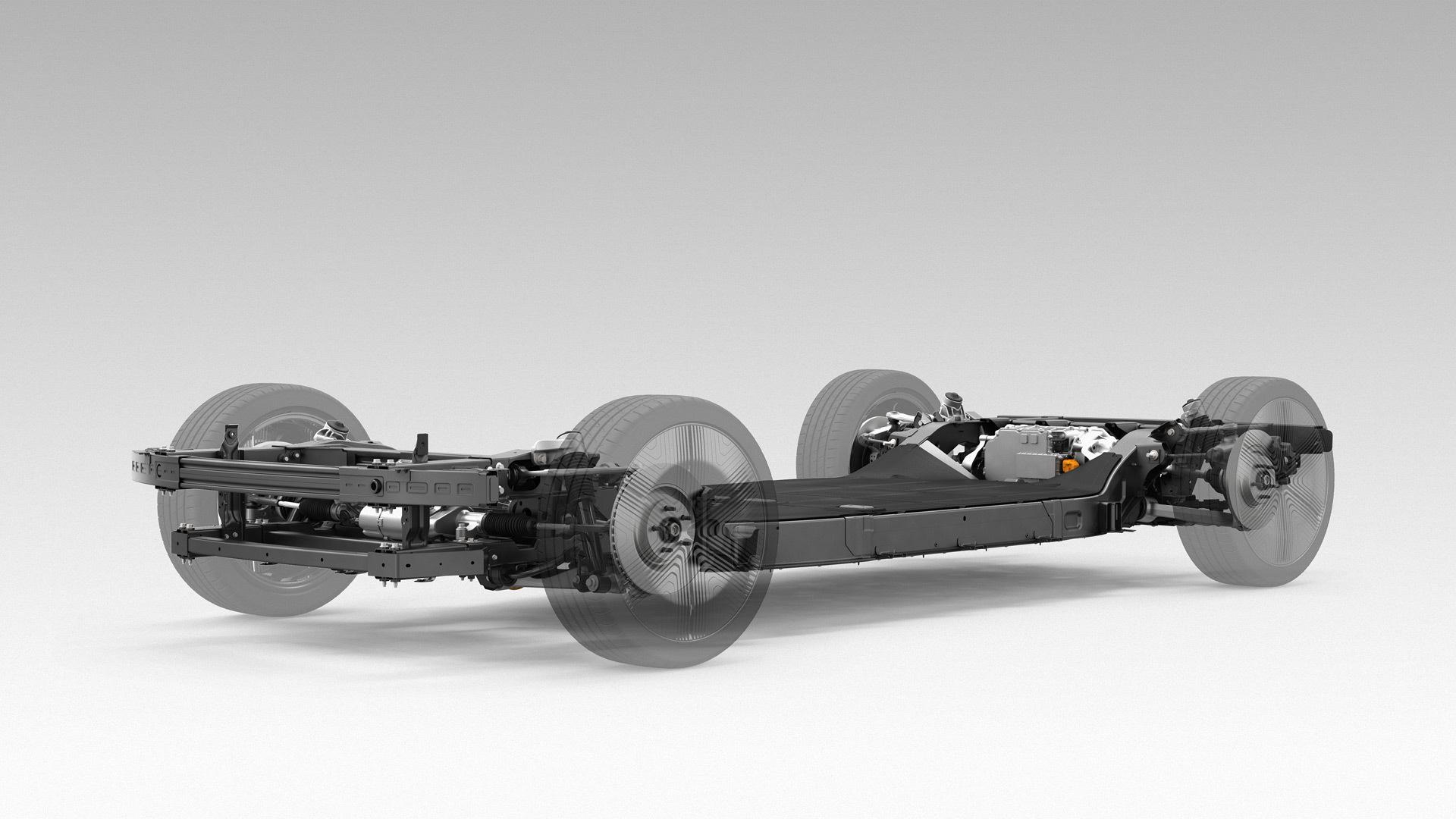 Canoo electric car platform