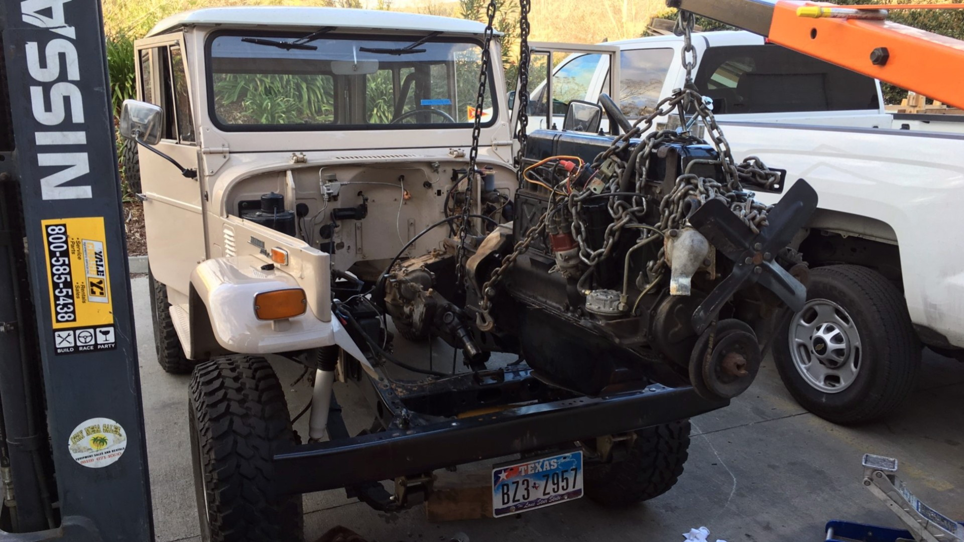 "Electric GT ""crate"" engine project  -  in progress  -  1970 Toyota Land Cruiser"