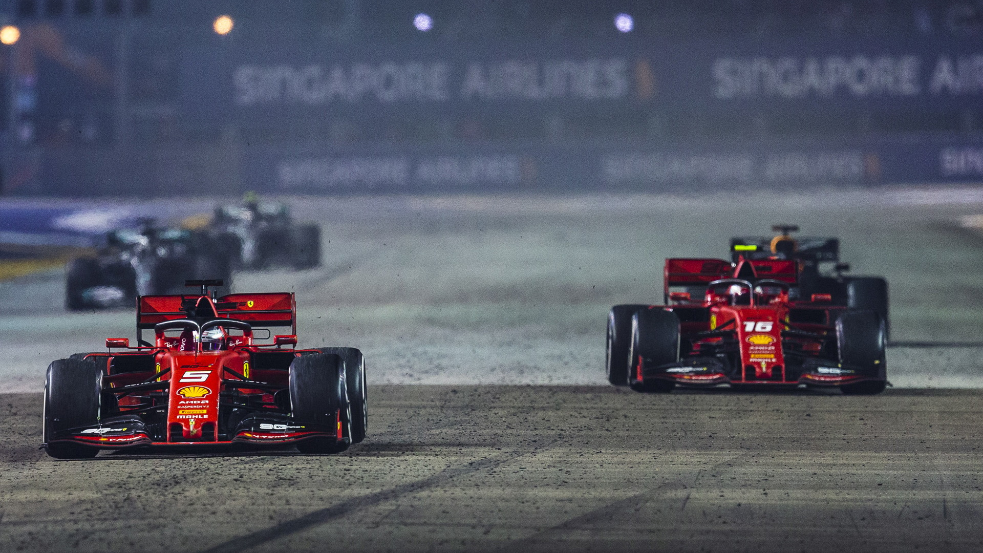 Ferrari at the 2019 Formula One Singapore Grand Prix