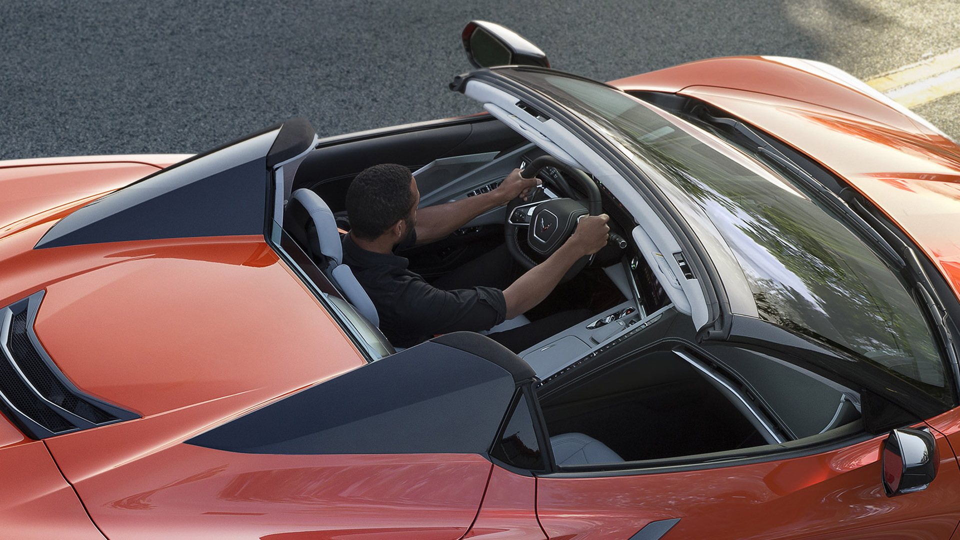 Chevrolet Corvette hard-top convertible revealed