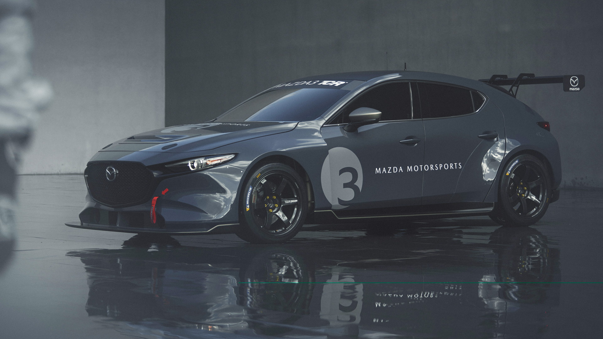 2020 Mazda 3 TCR race car