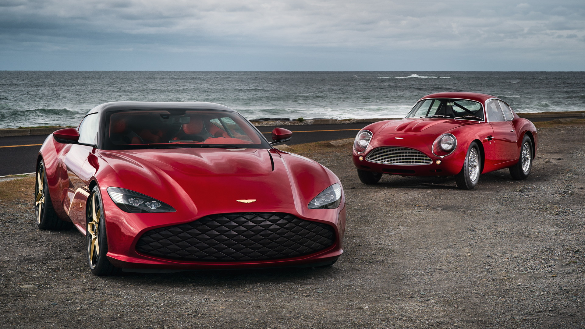 Aston Martin DBS GT Zagato and DB4 GT Zagato continuation car
