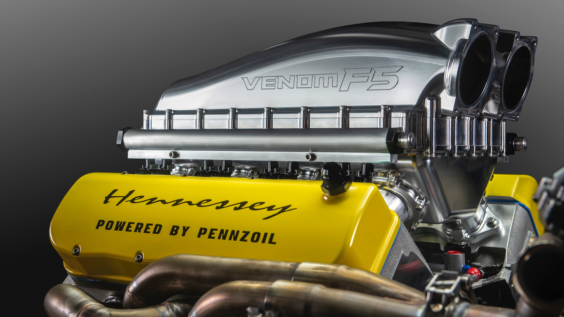 Hennessey Venom F5 Fury twin-turbo V-8 engine