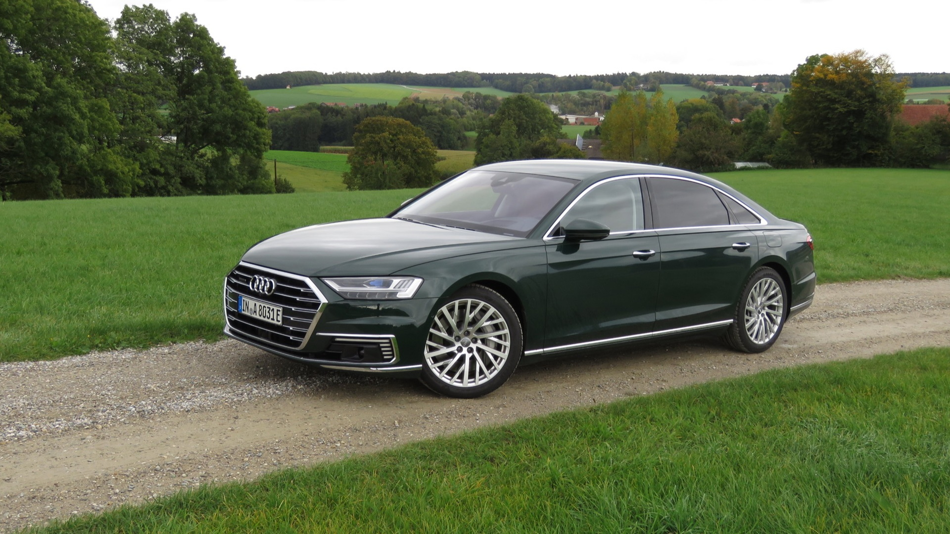 2020 Audi A8 plug-in hybrid (Euro spec)  -  first drive, October 2019