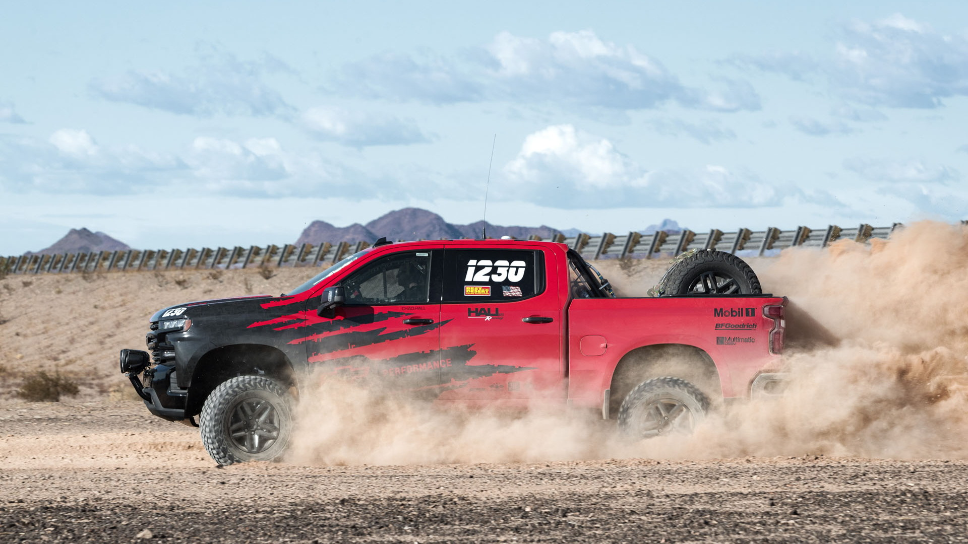 Hall Racing Chevrolet Silverado race truck
